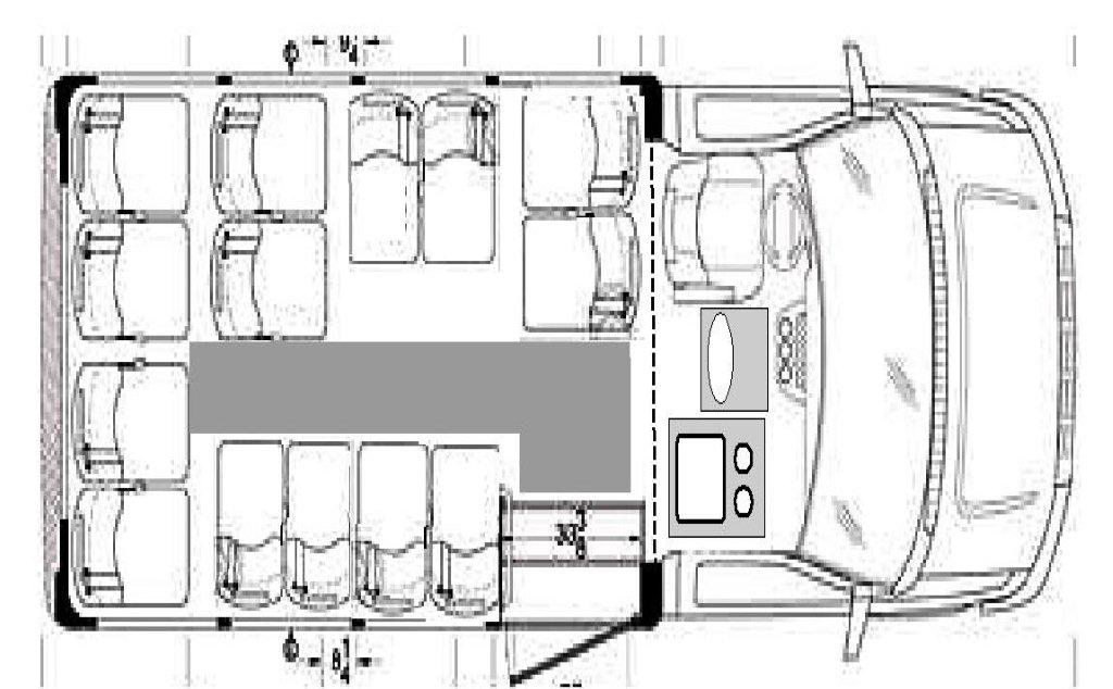 Limo Bus Floor Plan
